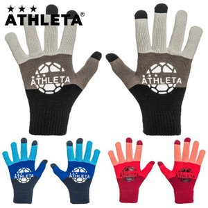 先行予約商品 ジュニア ニットグローブ/手袋 ATHLETA-アスレタ フットサルウェア/サッカーウェア sportskym