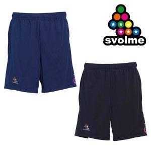 NEWモデル ポケット付き カラーロゴプラパン/プラクティスパンツ svolme-スボルメ フットサルウェア/サッカーウェア|sportskym