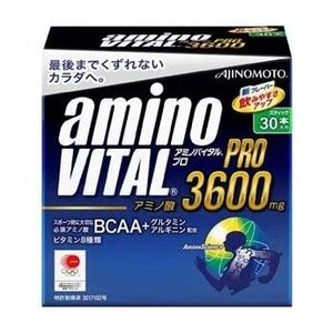 スポーツで疲労した筋肉をケア アミノバイタル プロ3600 1箱(30本入り) AJINOMOTO-味の素 サプリメント/プロテイン sportskym