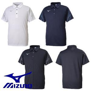 MIZUNO-ミズノ MCライン 半袖ポロシャツ スポーツウェア/ランニングウェア|sportskym