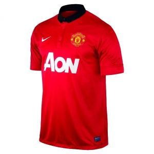 NIKE-ナイキ マンチェスターユナイテッド レプリカシャツ ホーム 13-14シーズン サッカーウェア/フットサルウェア|sportskym