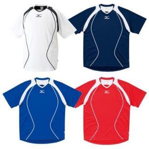 激安SALE 半袖プラクティスシャツ/プラシャツ MIZUNO-ミズノ サッカーウェア/フットサルウェア|sportskym
