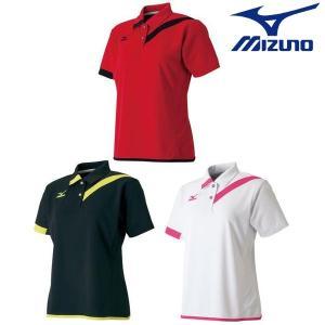 MIZUNO-ミズノ ウイメンズ 半袖ゲームシャツ/ユニホーム テニス・ソフトテニスウェア/バドミントンウェア/ユニホーム|sportskym