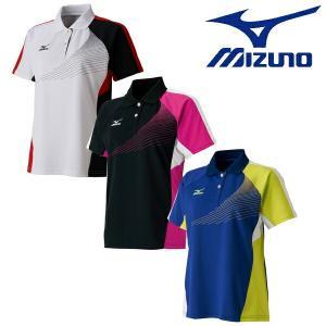 MIZUNO-ミズノ ウイメンズ/女性用 半袖ゲームシャツ/ユニホーム テニス・ソフトテニスウェア/バドミントンウェア/ユニホーム|sportskym