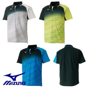 MIZUNO-ミズノ ユニセックス 半袖ゲームシャツ/ユニホーム テニス・ソフトテニスウェア/バドミントンウェア/ユニホーム SALE/セール|sportskym