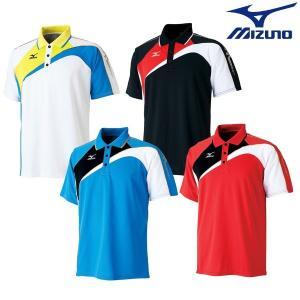 MIZUNO-ミズノ ユニセックス 半袖ゲームシャツ/ユニホーム テニス・ソフトテニスウェア/バドミントンウェア/ユニホーム|sportskym