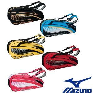 MIZUNO-ミズノ ラケットバッグ 6本入れ ラケットケース/テニス・ソフトテニス・バドミントンバッグ|sportskym