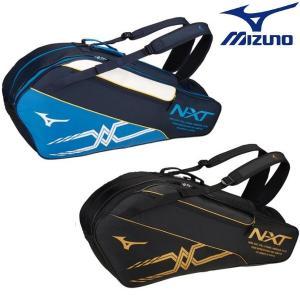MIZUNO-ミズノ ラケットバッグ 6本入れ 約45L ラケットケース/テニス・ソフトテニス・バドミントンバッグ|sportskym