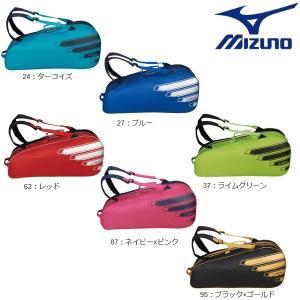 MIZUNO-ミズノ ラケットバッグ 6本入れ 約45L ラケットケース/テニス・ソフトテニス・バドミントンバッグ|sportskym|02