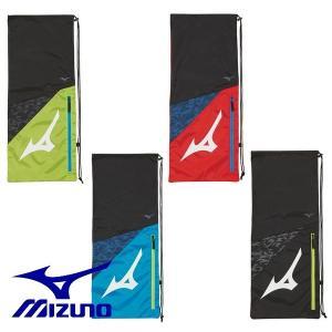 MIZUNO-ミズノ ラケットバッグ/ラケットケース 2本入れ用 ラケットケース/テニス・ソフトテニス・バドミントンバッグ|sportskym