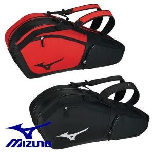 MIZUNO-ミズノ ラケットバッグ 6本入れ用 約40L ラケットケース/テニス・ソフトテニス・バドミントンバッグ|sportskym