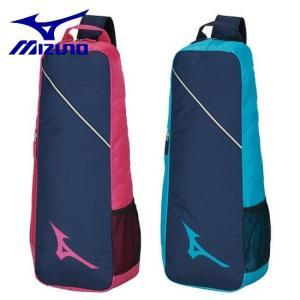 MIZUNO-ミズノ ワンショルダーラケットバッグ 2本入れ用 約30L ラケットケース/テニス・ソフトテニス・バドミントンバッグ|sportskym