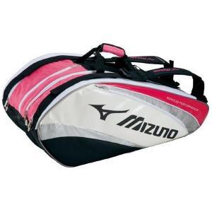 激安SALE ラケットバッグ/ラケットケース 70L (9本入れ) MIZUNO-ミズノ ラケットバック/テニス・ソフトテニス・バドミントンバッグ|sportskym