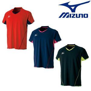 MIZUNO-ミズノ ユニセックス 半袖ゲームシャツ/ユニホーム 卓球ウェア/卓球ユニフォーム SALE/セール