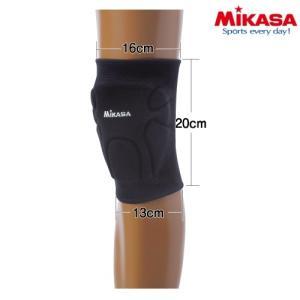 MIKASA-ミカサ バレー専用 膝/ひざ サポーター サイズ 2枚セット シニアサイズ/ジュニアサイズ バレーボール用品/バレーグッズ|sportskym