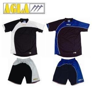 激安・52%OFF プラシャツ&プラパン上下セット AGLA-アグラ フットサルウェア