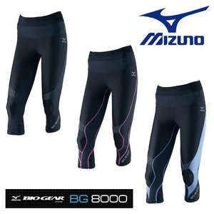 MIZUNO-ミズノ ウイメンズ バイオギア BG8000 セミロングタイツ スポーツウェア/インナースパッツ|sportskym