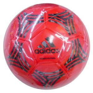 adidas-アディダス タンゴ ハイブリッド フットサル レッド 4号球 フットサルボール/フットサルグッズ|sportskym