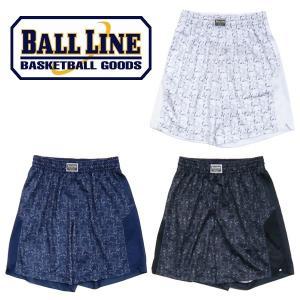 BALL LINE-ボールライン 昇華プリント パネルバギーパンツ ON THE COURT-オンザコート バスケットウェア/プラパン/バスパン|sportskym