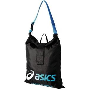 asics-アシックス グラフィックトートバッグ ブラック ランニング・トラック sportskym