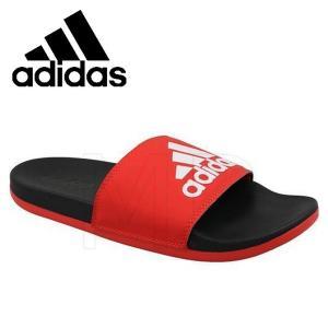 adidas-アディダス アディレッタ CF ロゴシャワーサンダル アクティブレッド スポーツサンダル/シャワーサンダル sportskym