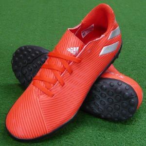 即発送 ジュニア ネメシス 19.4 TF J アクティブレッド×シルバーメット F99935 adidas-アディダス トレーニングシューズ/ターフシューズ|sportskym