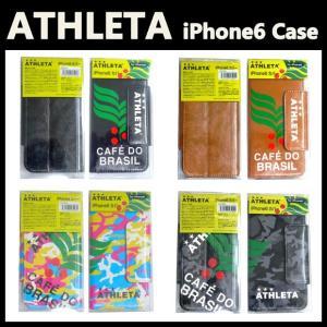 iPhone6専用 手帳型スマホケース/スマホカバー ATHLETA-アスレタ フットサルウェア/サッカーウェア|sportskym