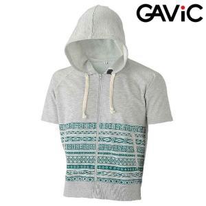 GAVIC-ガビック 半袖スウエットパーカー/スウェットパーカー フットサルウェア/サッカーウェア|sportskym