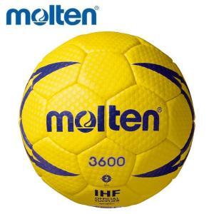 molten-モルテン ヌエバX3600 イエロー 2号球 検定球 屋外グラウンド用 ハンドボール用品|sportskym