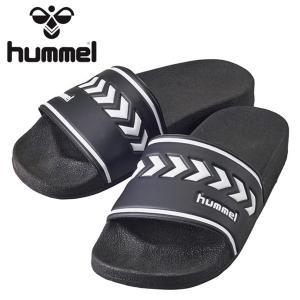 hummel-ヒュンメル シャワーサンダル ブラック スポーツサンダル/その他シューズ sportskym