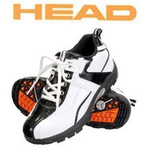 HEAD-ヘッド ゴルフシューズ スパイクレス ホワイト×ブラック メンズゴルフシューズ|sportskym