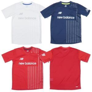 New Balance-ニューバランス ジュニア 半袖プラクティスシャツ/プラシャツ サッカーウェア/フットサルウェア|sportskym