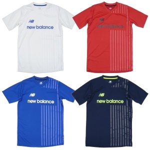New Balance-ニューバランス 半袖プラクティスシャツ/プラシャツ サッカーウェア/フットサルウェア|sportskym