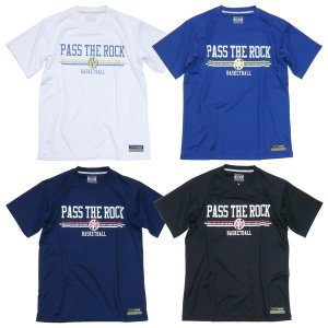 PASS THE ROCK-パスザロック 半袖ベーシックTシャツ/半袖プラクティスシャツ ON THE COURT-オンザコート バスケットウェア/プラシャツ sportskym