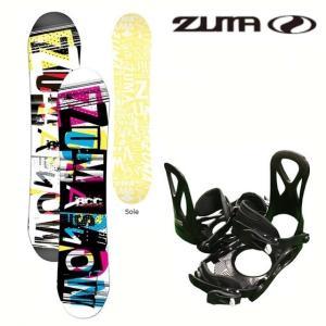 ZUMA-ツマ ジュニア用 スノーボード/ビンディング 2点セット Mt.Rider Jr スノーボード用品/板 SALE/セール sportskym