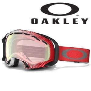 最終値引き SPLICE Half Tone Red-White/VR50 Pink Iridium OAKLEY-オークリー 12/13 スノーボード/ゴーグル sportskym