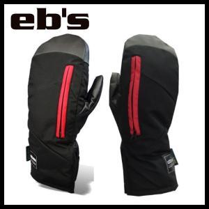 eb's-エビス GO GETTER-MITT BLACK SNOWBOARD GLOVES 2015-2016 スノーボード用品/グローブ/手袋 sportskym