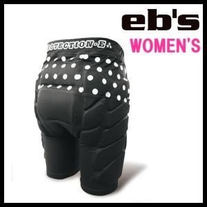 eb's-エビス WOMEN'S HIP-PROTECT - ヒッププロテクター ドット柄 スノーボード用品/プロテクター sportskym