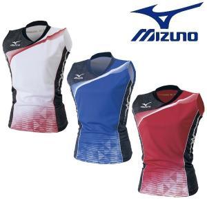 MIZUNO-ミズノ 女性用/レディース 全日本着用モデル ゲームシャツ/ユニホーム バレーボールウェア/バレーウェア|sportskym