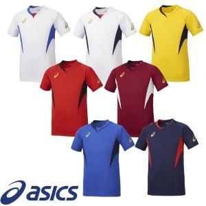 asics-アシックス ゲームシャツ HS 半袖プラクティスシャツ/プラシャツ サッカーウェア/フットサルウェア|sportskym