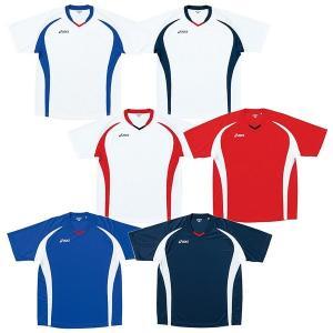 asics-アシックス ジュニア用 半袖ゲームシャツ/ユニホーム サッカーウェア/フットサルウェア sportskym