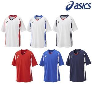 asics-アシックス Jr/ジュニア ゲームシャツ HS 半袖プラクティスシャツ/プラシャツ サッカーウェア/フットサルウェア|sportskym
