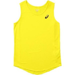 asics-アシックス W'S ランニングシャツ イエロー ランニング・トラック|sportskym