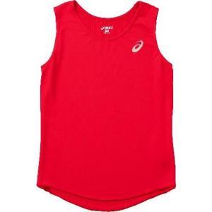 asics-アシックス W'S ランニングシャツ レッド ランニング・トラック|sportskym
