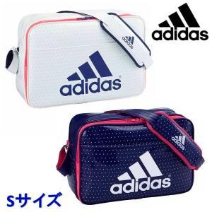 adidas-アディダス エナメルショルダーバッグ Sサイズ ホワイト×ブルー エナメルバック/ショルダーバッグ SALE/セール sportskym