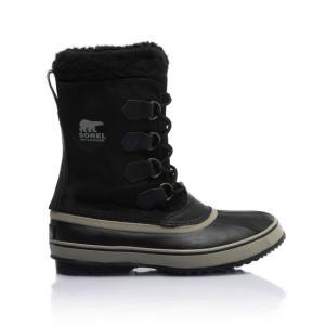 26cm ソレル 1964パックナイロン メンズ スノーブーツ カラー Black 軽量 男性用 防寒靴 ウインター