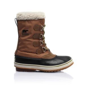 26cm ソレル 1964パックナイロン メンズ スノーブーツ カラー Nutmeg 軽量 男性用 防寒靴 ウインター