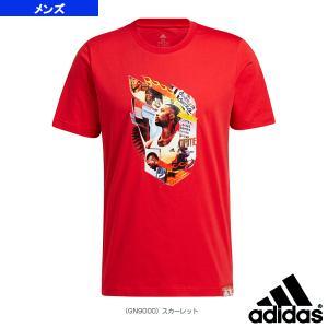 アディダス バスケットボールウェア(メンズ/ユニ)  DAME ABSTRACT Tシャツ/デイム アブストラクト Tシャツ/メンズ(25868)|sportsplaza