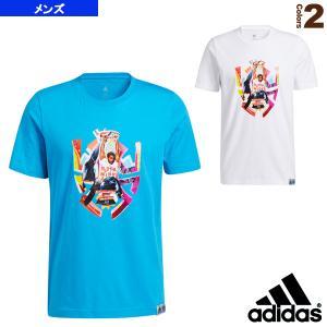 アディダス ウェア(メンズ/ユニ)  DON ABSTRACT Tシャツ/ドノヴァン ミッチェル アブストラクト Tシャツ/メンズ(25870)|sportsplaza