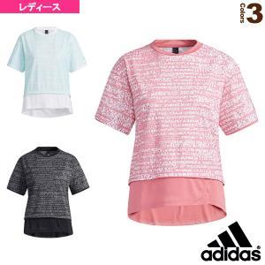 アディダス オールスポーツウェア(レディース)  W MHS AOP Tシャツ/レディース(JKO19)|sportsplaza